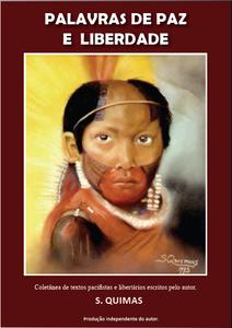 E-book Palavras de Paz e Liberdade por S. Quimas (capa)